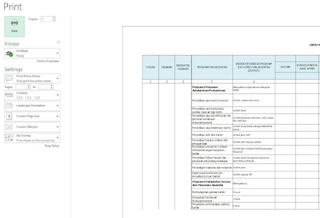 Cara otomatis merapikan dokumen table Microsoft Word