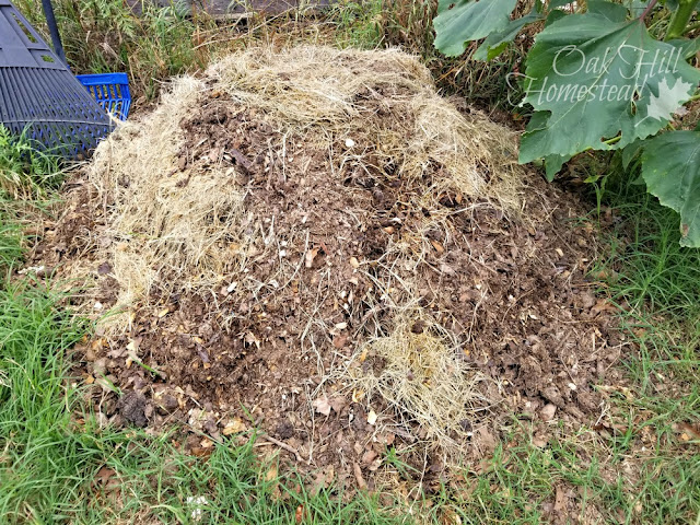 "Composting in summer is easy. Your compost pile needs a mix of ""green"" and ""brown"" ingredients plus moisture and air."