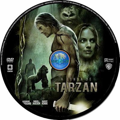 Label DVD A Lenda De Tarzan