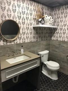 ديكورات حمامات صغيرة جدا مودرن 2021