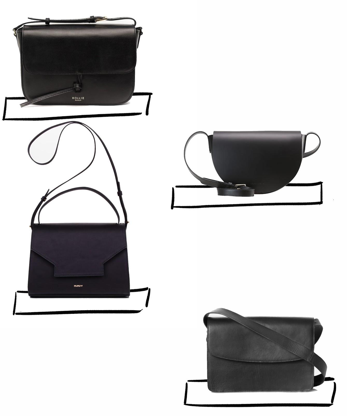 c0077ae688668 Basic Black Bags | Wiosenny przegląd torebek - Jestem Kasia Blog