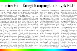 Pertamina Hulu Energi Completes KLD Project