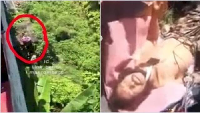Geger Pria di Sumsel Dilempar dari Atas Jembatan Setinggi 20 Meter, Mulutnya Dilakban