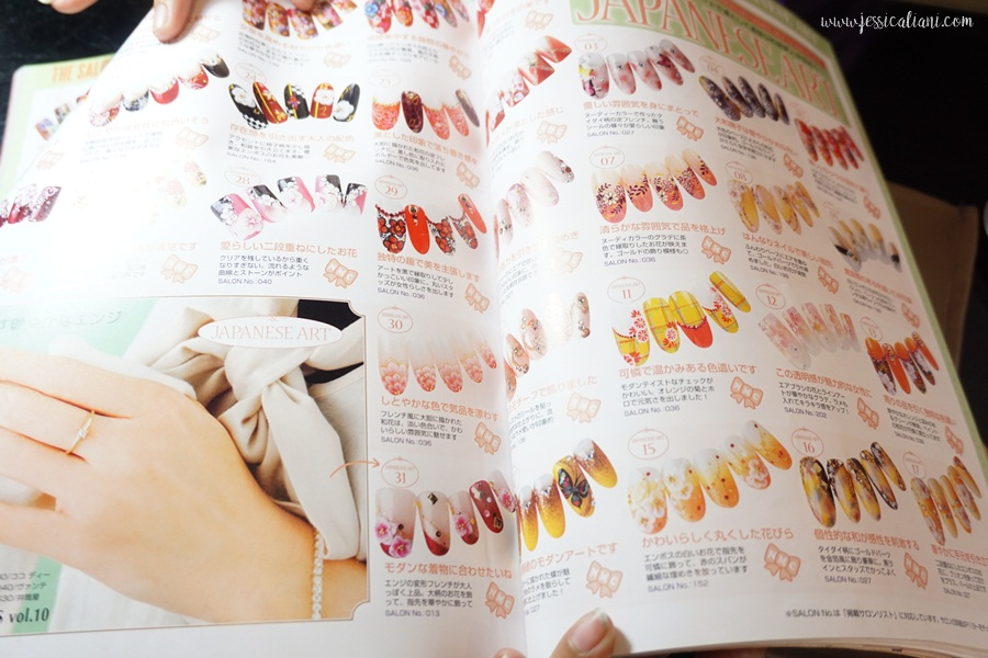 Gel nail art at rin beauty lounge denpasar bali jcliani blog rin welcomed us and told us to choose the nail art concept that we like they have many japanese nail art magazines and i couldnt resist to take a look at prinsesfo Image collections