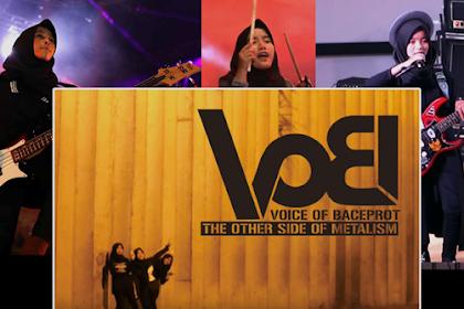 """VoB"" Hijaber Belia Asal Garut Pengusung Musik Beraliran Anti Mainstream Yang Mendunia"