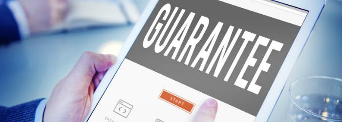 Provide Guarantee to Improve Sales