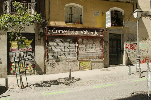 Calle Valverde Madrid