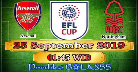 Prediksi Bola855 Arsenal vs Nottingham 25 September 2019