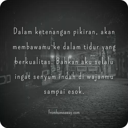 quotes selamat malam untuk pacar