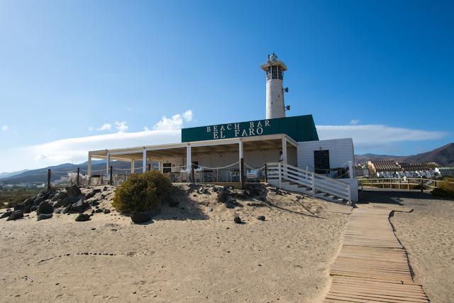 Faro alla Playa del Matorral-Fuerteventura