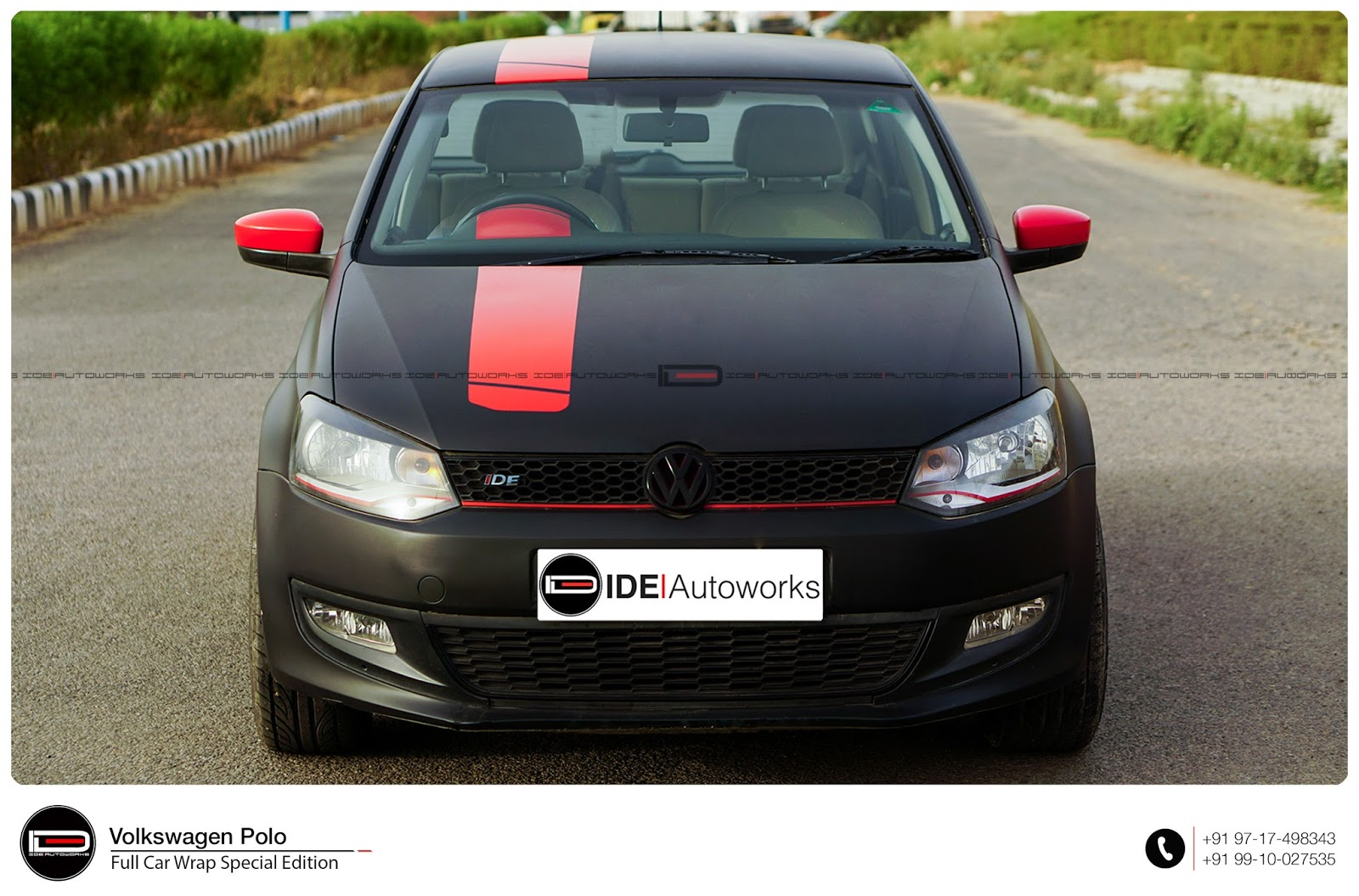 vw polo one off special edition 3 ide autoworks. Black Bedroom Furniture Sets. Home Design Ideas