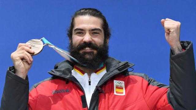 SNOWBOARD - Regino Hernández se colgó el bronce en cross y es el tercer medallista olímpico del deporte de invierno español