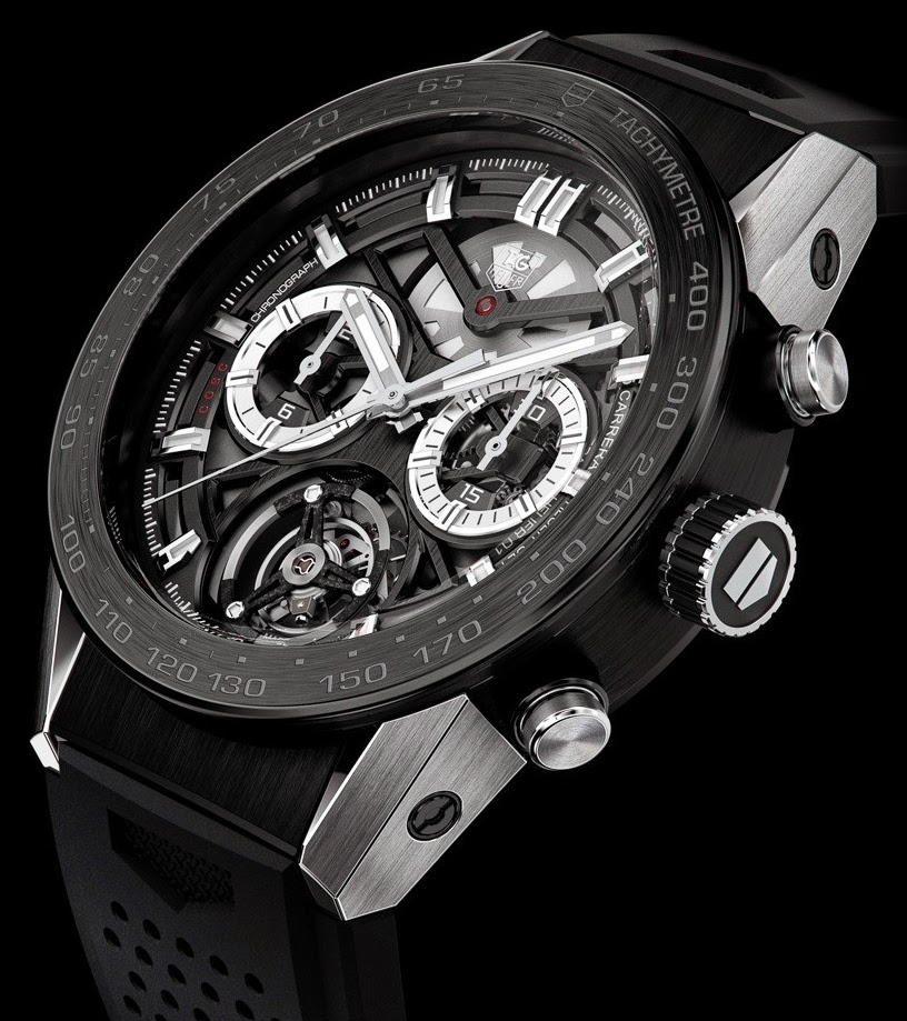 Montre Tag Heuer Carrera Chronographe Tourbillon