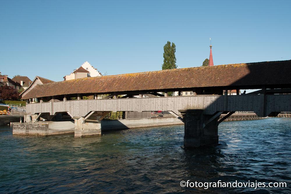 Spreuerbrücke o puente Spreuer de Lucerna