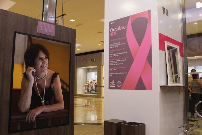 """Grand Plaza Shopping promove ações em apoio ao """"Outubro Rosa"""""""