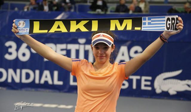 Συνεχίζει την προέλαση στο τένις και το 2019 η Θεσπρωτή Μιχαέλα Λάκη