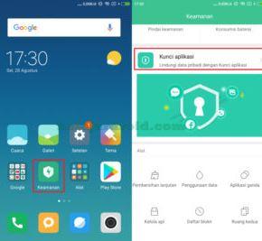 Cara Mengunci Aplikasi Xiaomi Mi A2