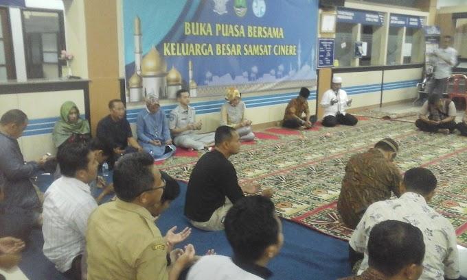 Jalin Silaturahmi, Samsat Cinere Gelar Buka Puasa Bersama