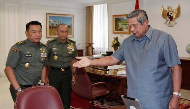 Saksi: Moeldoko Cerita Pernah Menghadap SBY Minta Jadi Ketum PD