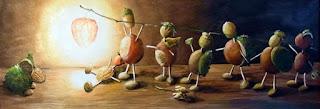 """Aus: """"Der Trompetenspieler"""" von Gernot Jennerwein. Bild: Claudia Gabriele Meinicke"""