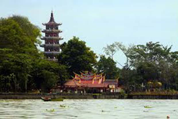 Pulau Kemaro : Pulau Apung Di Sungai Musi Palembang
