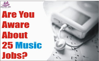 Are You Aware About 25 Music Jobs? Let's Analyze