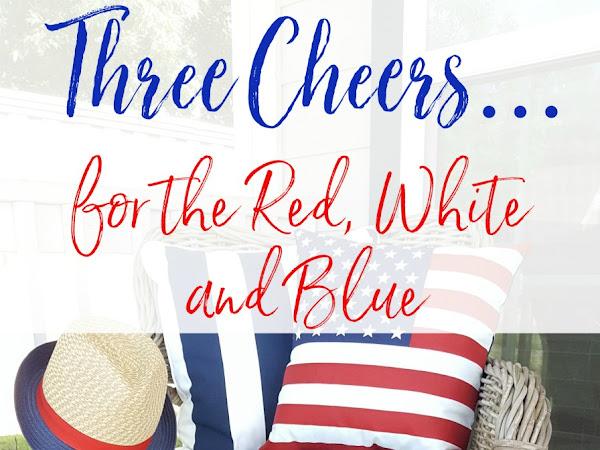 Three Cheers...