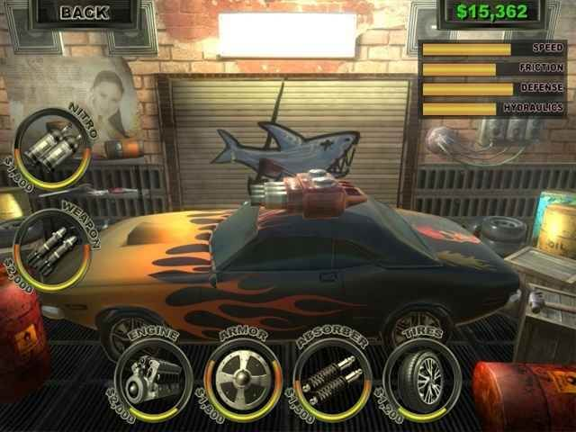 لعبة قتال السيارات