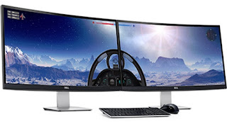 Monitor DELL UltraSharp Curved LED 34 Inch U3415W