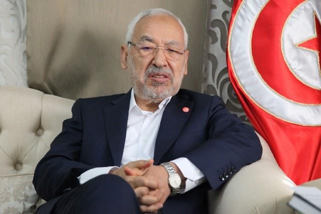 تونس.. متظاهرون يطالبون برحيل الغنوشي