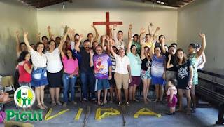 Agentes de endemias fazem círculo de cultura com população do bairro São José em Picuí