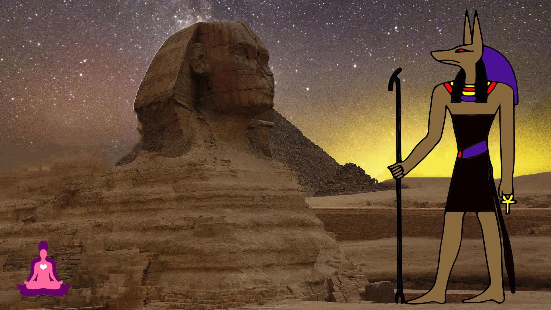 Anubis Dios Egipcio del Inframundo, perro anubis, rey anubis