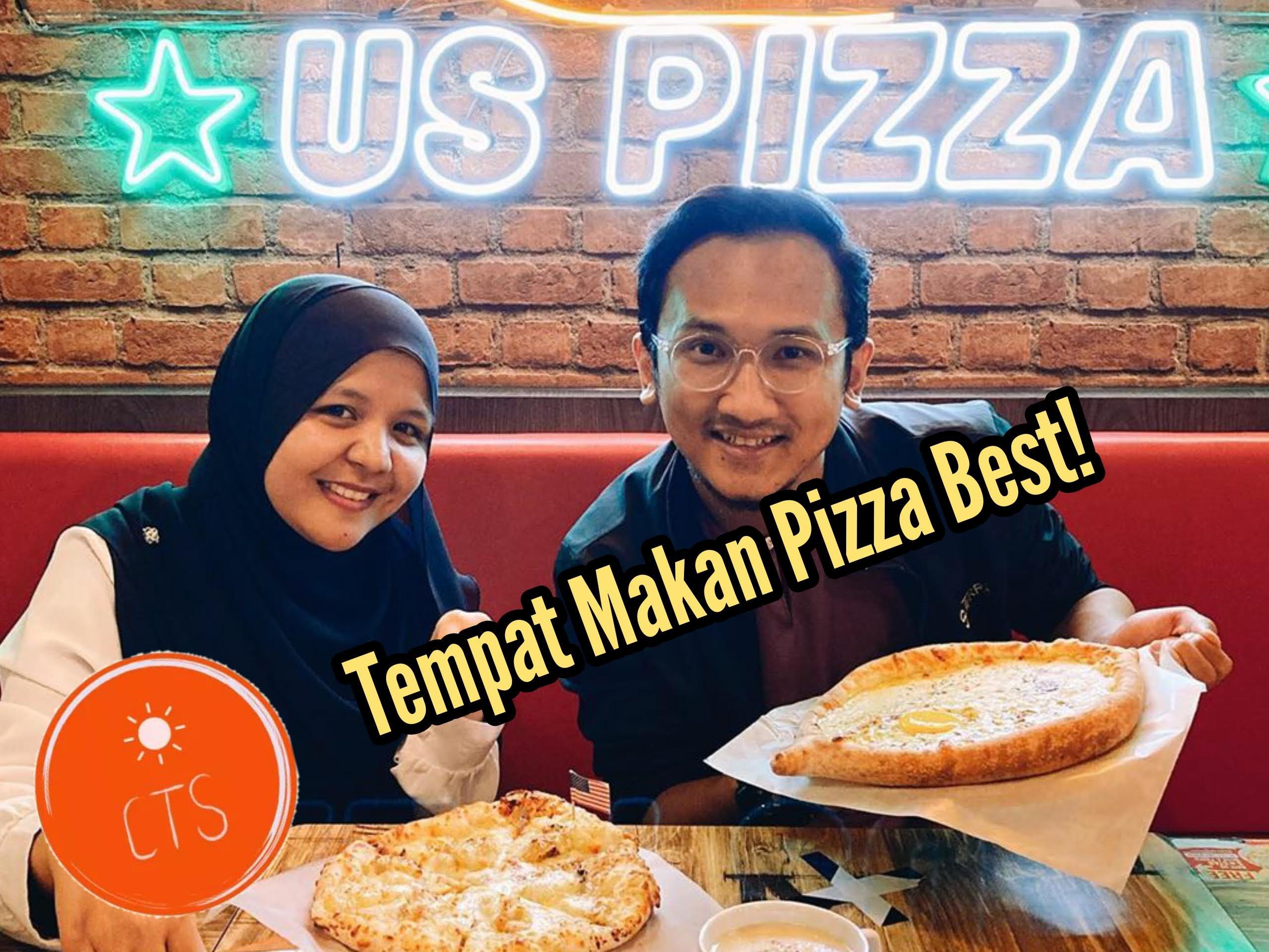 Tempat Makan Best Di Kulim | Mari Cuba Pizza Durian di US Pizza!