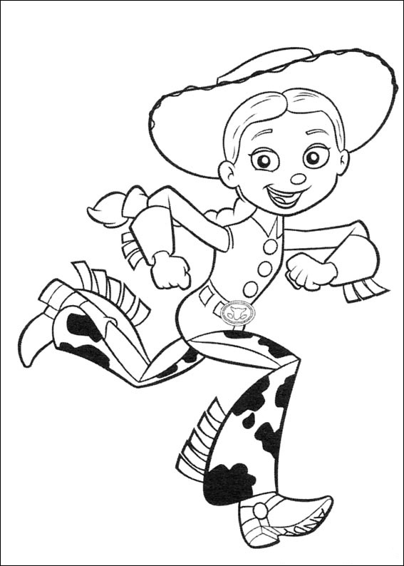 Toy Story Coloring Pages Free Printable Coloring Pages