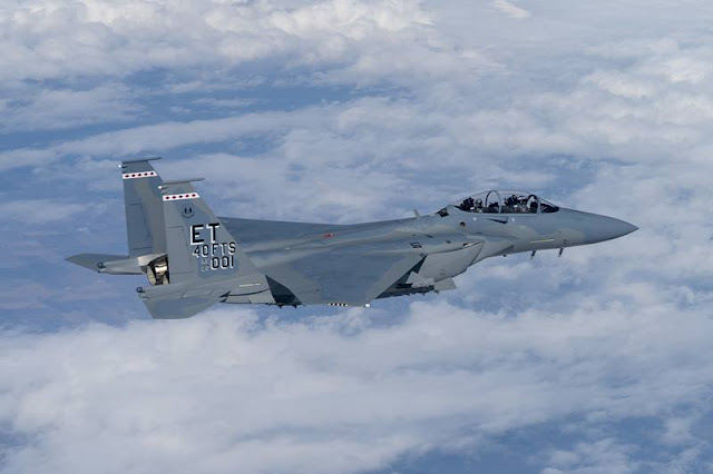 USAF receives first F15EX