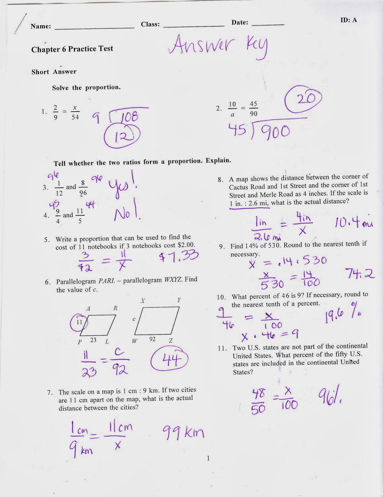 Ms Jean S Classroom Blog Chapter 6 Practice Test Answers