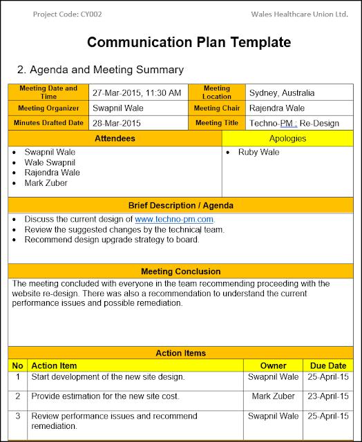 project communication plan, communication plan template, communications management plan
