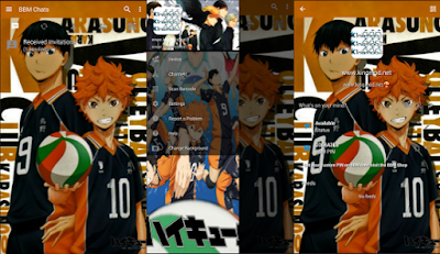 BBM Mod Anime Haikyuu Full Features V3.1.0.13 Apk