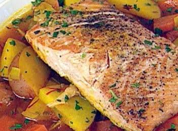 Braised Salmon Recipe