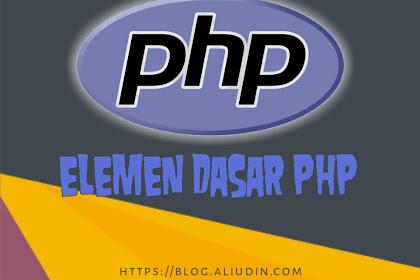 Belajar Elemen Dasar PHP pdf