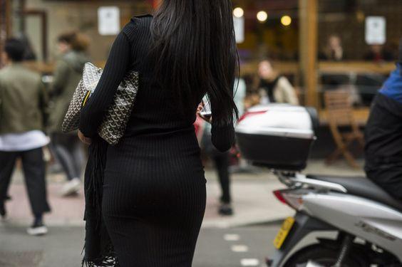 Goyard Bag London Fashion Week LFW SS17 Street Style
