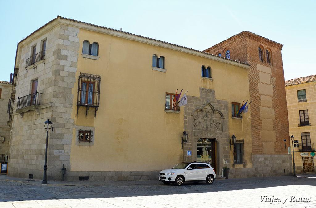 Qué ver en Ávila: Palacio de Valderrábanos