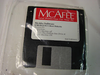 Diskette McAfee