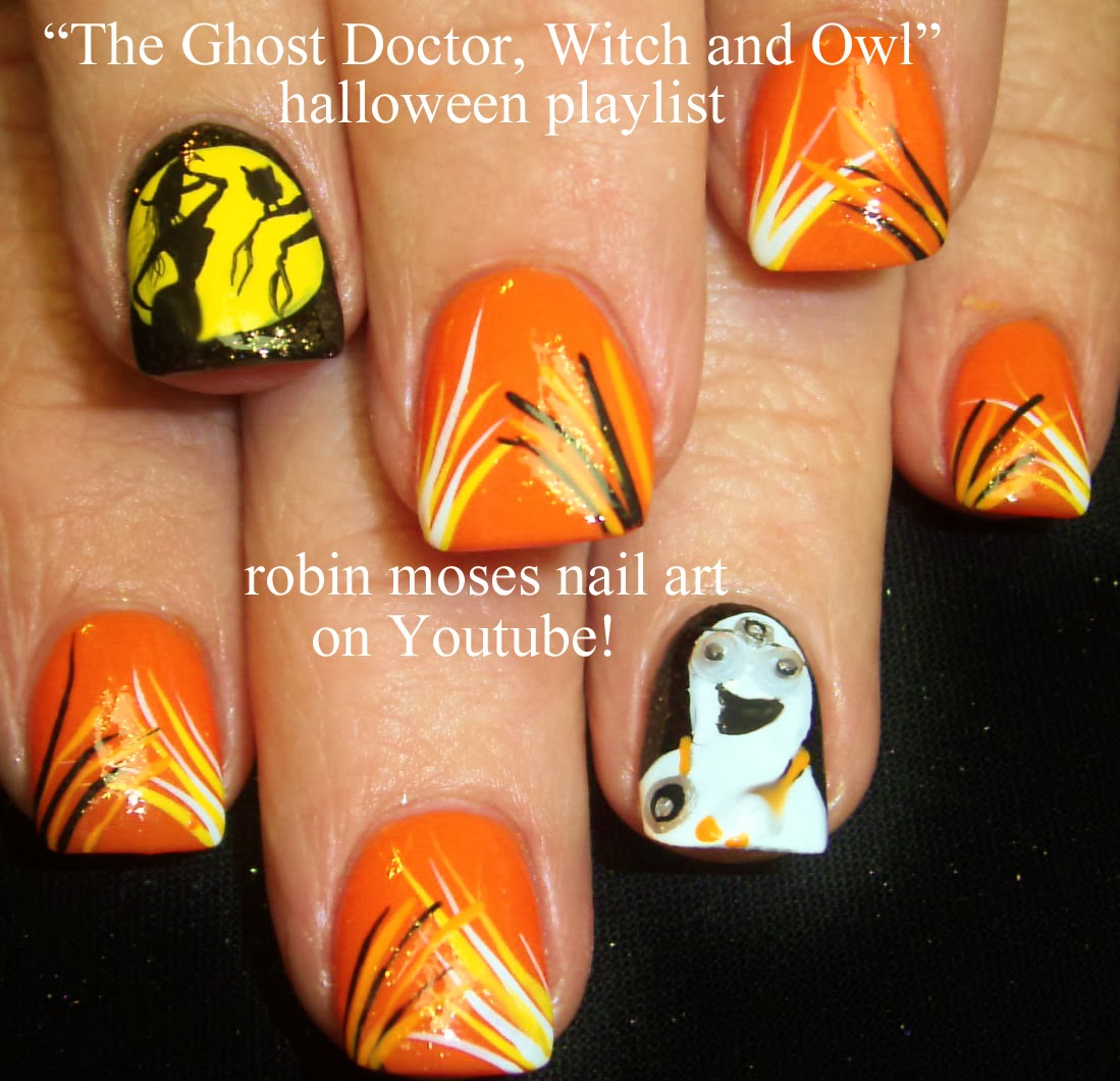 Nail art by robin moses halloween nails cute halloween ideas halloween nails cute halloween ideas halloween ideas halloween costumes halloween nail art halloween designs halloween fall colors fall solutioingenieria Image collections