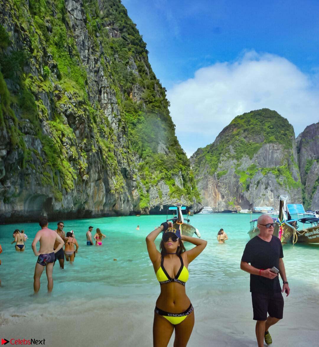 Niharika Agarwal Enjoying her vacaion in Thailand Beautiful Bikini Pis Niharika Agarwal in Bikini CelebsNext Exclusive Galleries