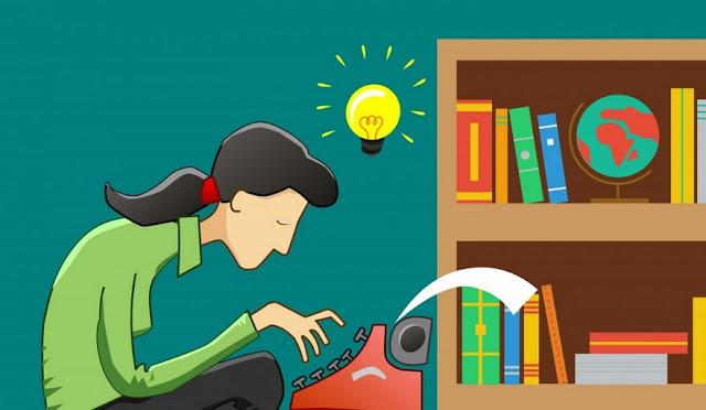 Menggali ide dalam menulis novel