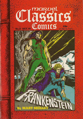 Marvel Classics pocket book #2, Frankenstein