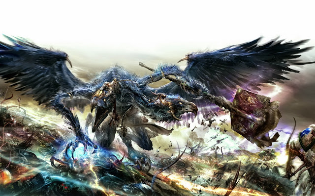 The Oracle of Tzeentch Looks At What Will Happen Next