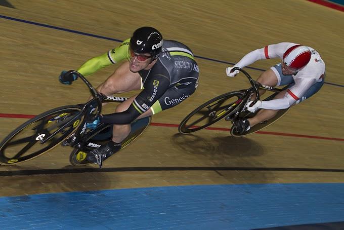Itmar Esteban se proclamó subcampeón del mundo de ciclismo en pista en Mánchester
