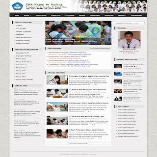Script Bikin Web Sekolah Dengan Codeigniter Serta Tampilan 7 Warna